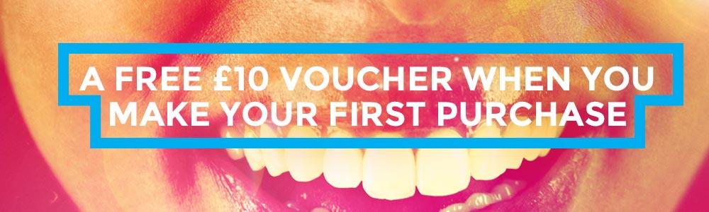 Free £10 Voucher